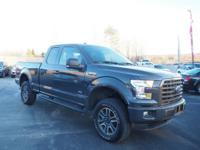 Get ready to go for a ride in this 2016 Ford F-150 XLT,
