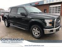 Clean CARFAX. Green 2016 Ford F-150 4WD 6-Speed