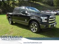 New Price! CARFAX One-Owner. Black 2016 Ford F-150 King
