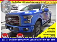 Loaded! This Ford F-150 Lariat SuperCrew 4X4 comes