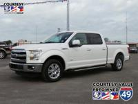 From city streets to back roads, this White 2016 Ford