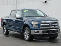 New Price! This 2016 Ford F-150 Lariat in Blue