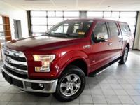 Ruby Red Metallic Tinted Clearcoat 2016 Ford F-150