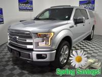 CARFAX One-Owner. Clean CARFAX. Silver 2016 Ford F-150