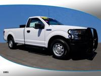 This 2016 Ford F-150 XL in Oxford White features: 2D