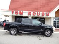 Shadow Black 2016 Ford F-150 XLT 4WD 6-Speed Automatic