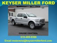 CARFAX One-Owner. Ingot Silver Metallic 2016 Ford F-150