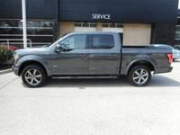 CARFAX One-Owner. Magnetic Metallic 2016 Ford F-150 XLT