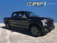 New Price! Clean CARFAX. Shadow Black 2016 Ford F-150