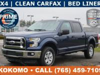 This F-150 is a 4 wheel drive, priced $1,800 below KBB,