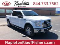 Clean CARFAX. White XLT 4WD 6-Speed Automatic