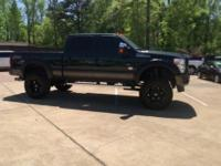 * 6'' LIFT* 20'' BLACK WHEELS* 37'' MTS* LEATHER SEATS*