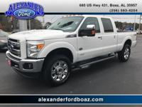 2016 Ford F250 Super Duty Crew Cab 4WD King Ranch. +++