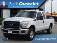 CARFAX One-Owner. Clean CARFAX. White 2016 Ford F-250SD