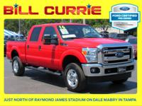 Certified. Clean CARFAX. This 2016 Ford F-250SD XLT in