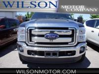 CARFAX One-Owner. Clean CARFAX. Black 2016 Ford F-350SD