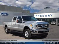 Oxford White 2016 Ford F-350SD XLT TorqShift 6-Speed