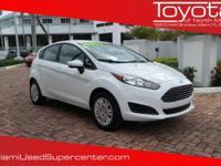 Options:  2016 Ford Fiesta S|White/|V4 1.6 L |606