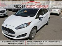 CARFAX One-Owner. Clean CARFAX. White 2016 Ford Fiesta
