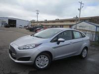 Ingot Silver 2016 Ford Fiesta S FWD 6-Speed Automatic