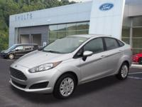 CARFAX One-Owner. 2016 Fiesta New Price! S 6-Speed
