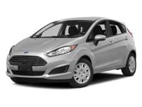 White 2016 Ford Fiesta SE FWD 6-Speed Automatic 1.6L I4
