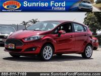 Check out the feisty stance of our 2016 Ford Fiesta SE