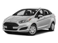 Certified. Ruby Red 2016 Ford Fiesta SE FWD 5-Speed