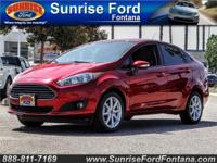 Admire the feisty stance of our 2016 Ford Fiesta SE