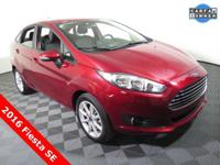 2016 Ford Fiesta SE with a 1.6L Engine. Cloth Interior,