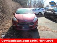 CARFAX One-Owner. Clean CARFAX. Red 2016 Ford Fiesta SE