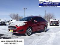 The Fiesta is Ford's smallest and least expensive car,