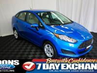 **BLUETOOTH, CRUISE, SIDE AIRBAGS** 2016 Fiesta