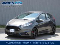 Charming in Magnetic, our 2016 Ford Fiesta ST is a