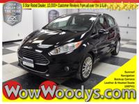 This Ford Fiesta Titanium top options include; Sunroof,