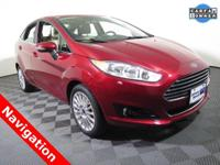 2016 Ford Fiesta Titanium with a 1.6L Engine. Leather