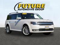 ***WOW! FLAWLESS FORD CERTIFIED 2016 FLEX LIMITED AWD!