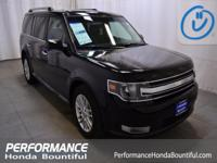 2016 Ford Flex SEL 3.5L V6 Ti-VCT AWD. Odometer is 3349