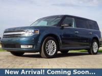 2016 Ford Flex SEL in Too Good To Be Blue Metallic,