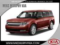 For a smoother ride, opt for this 2016 Ford Flex SEL