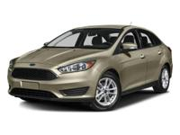 Options:  2016 Ford Focus S|Shadow Black/Yw|V4 2.0 L