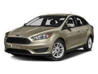 Clean CARFAX. Silver 2016 Ford Focus S FWD 5-Speed