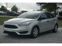 This 2016 Ford Focus S in Ingot Silver features: SUPER