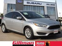 The Focus is an efficient compact sedan with style,