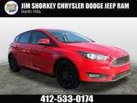 2016 Ford Focus SE New Price! CARFAX One-Owner. Clean