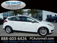 CARFAX One-Owner. Clean CARFAX. White 2016 Ford Focus