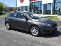 Clean CARFAX. Gray 2016 Ford Focus SE FWD Automatic