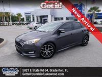 This 2016 Ford Focus SE in Stealth Gray features: Focus