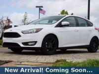 2016 Ford Focus SE in Oxford White, This Focus comes