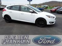 Options:  2016 Ford Focus Se|White/|V4 2.0 L